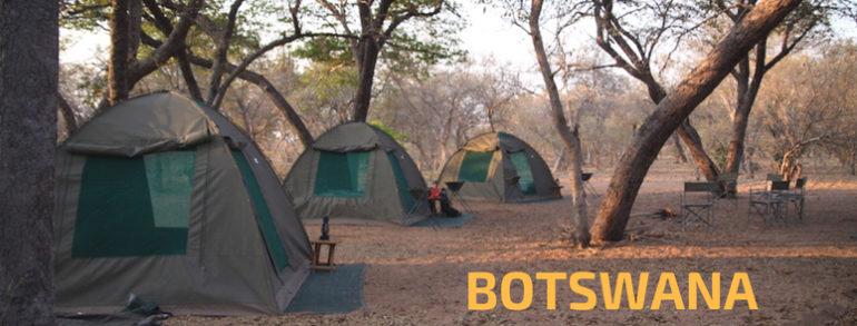 campo e servizi in botswana